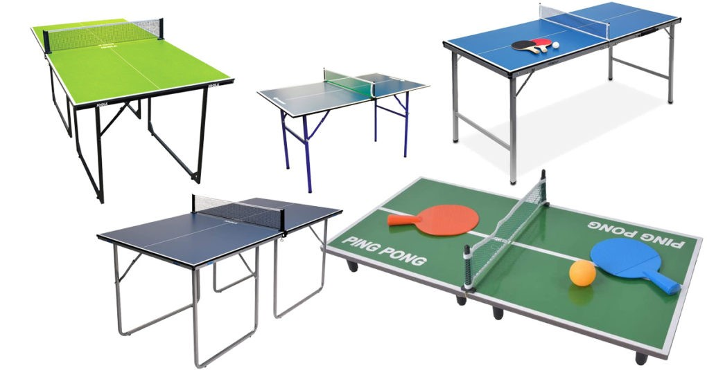 Mini-Tischtennisplatte