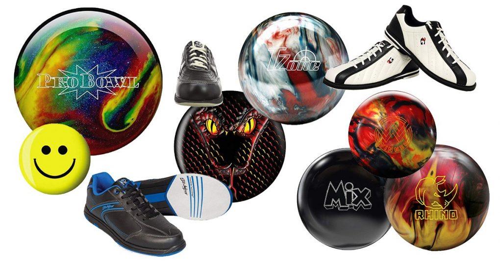 Bowlingkugeln & Bowlingschuhe
