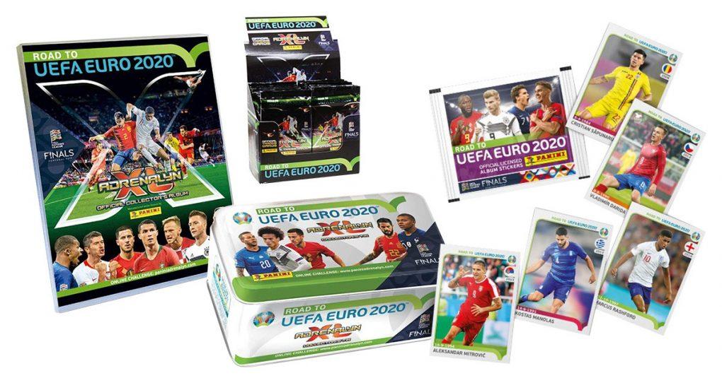 Panini-Sticker für die EURO 2020