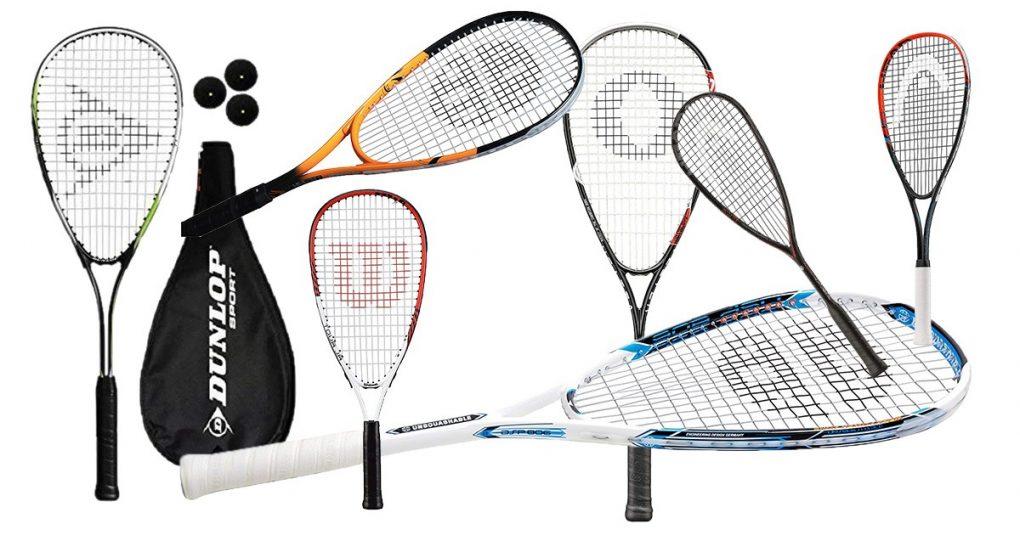 Squashschläger für Anfänger & Fortgeschrittene