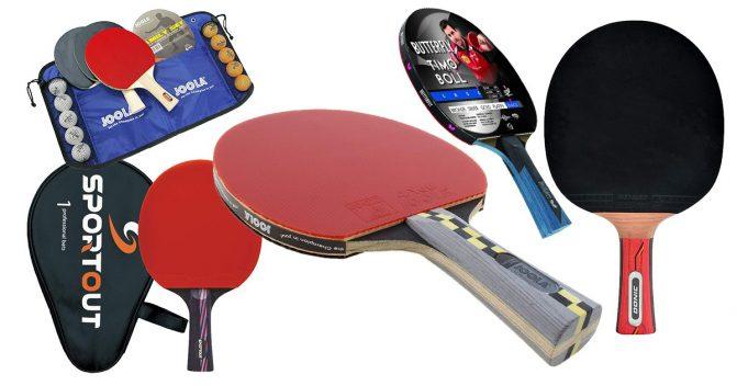 Tischtennisschläger für Anfänger & Fortgeschrittene