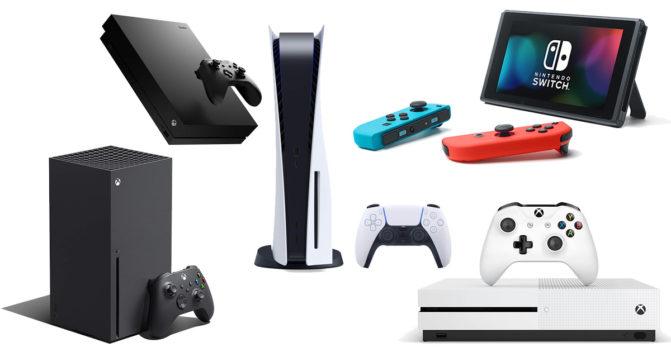Spielkonsole für Gamer