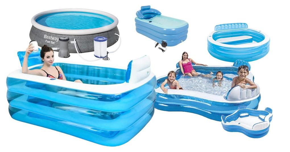 Aufblasbare-Pools