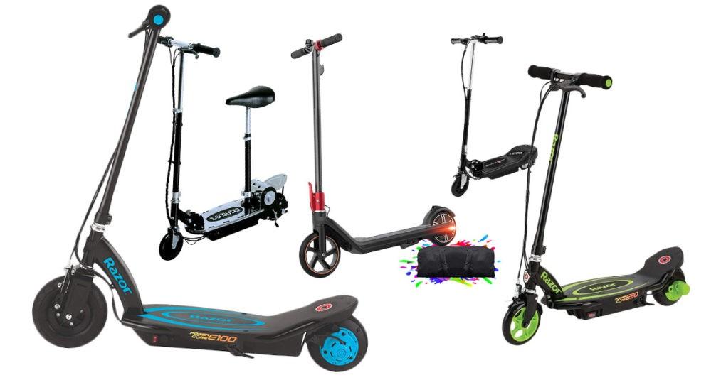 Elektro-Scooter für Kinder