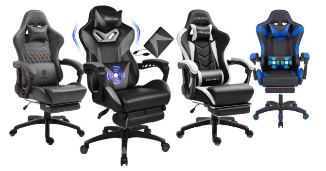 Gaming-Stuhl mit Massage