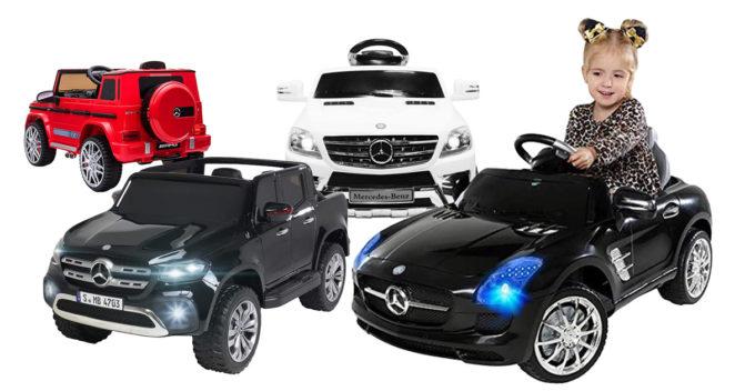 Mercedes-Kinderauto