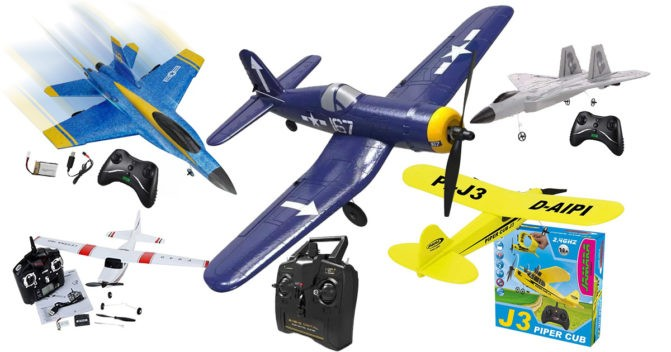 RC-Flugzeug-Bausatz